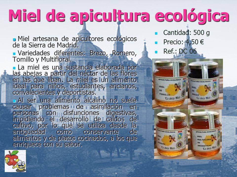 Miel de apicultura ecológica