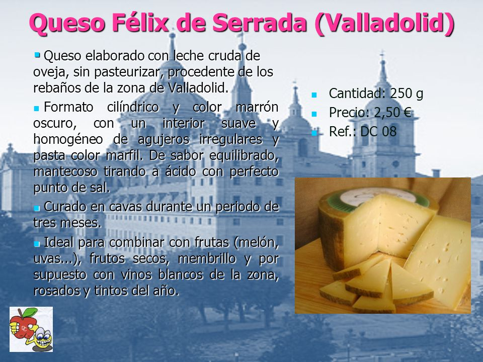 Queso Félix de Serrada (Valladolid)