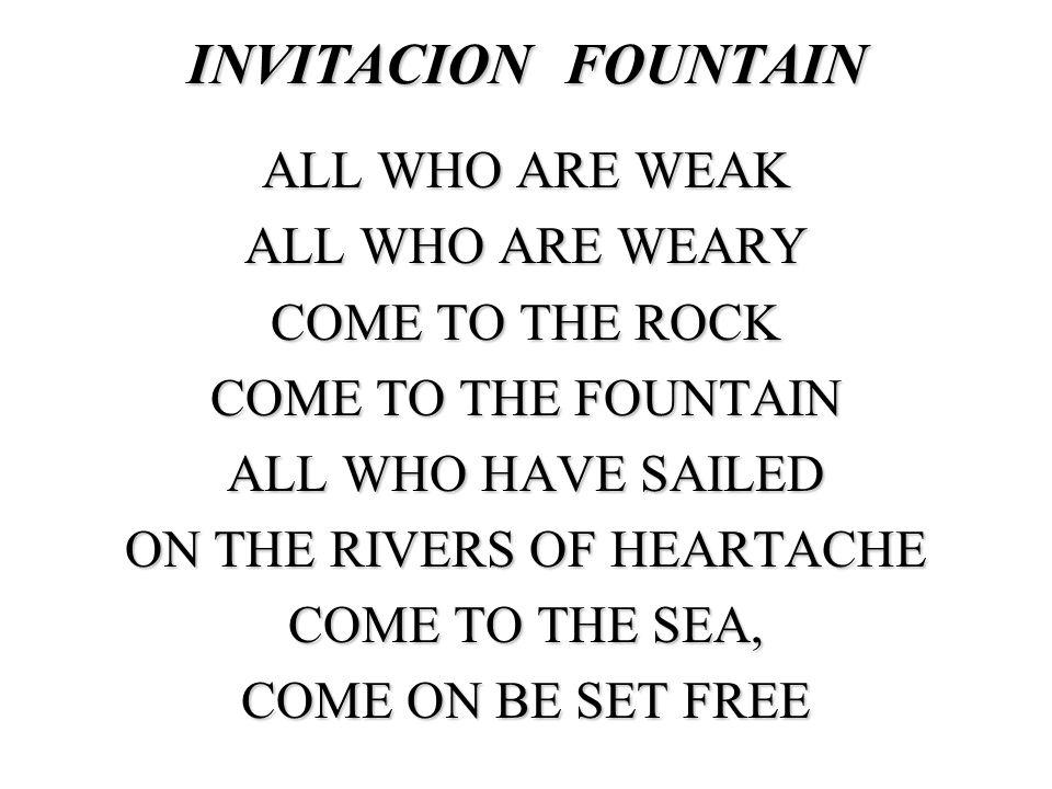 INVITACION FOUNTAIN