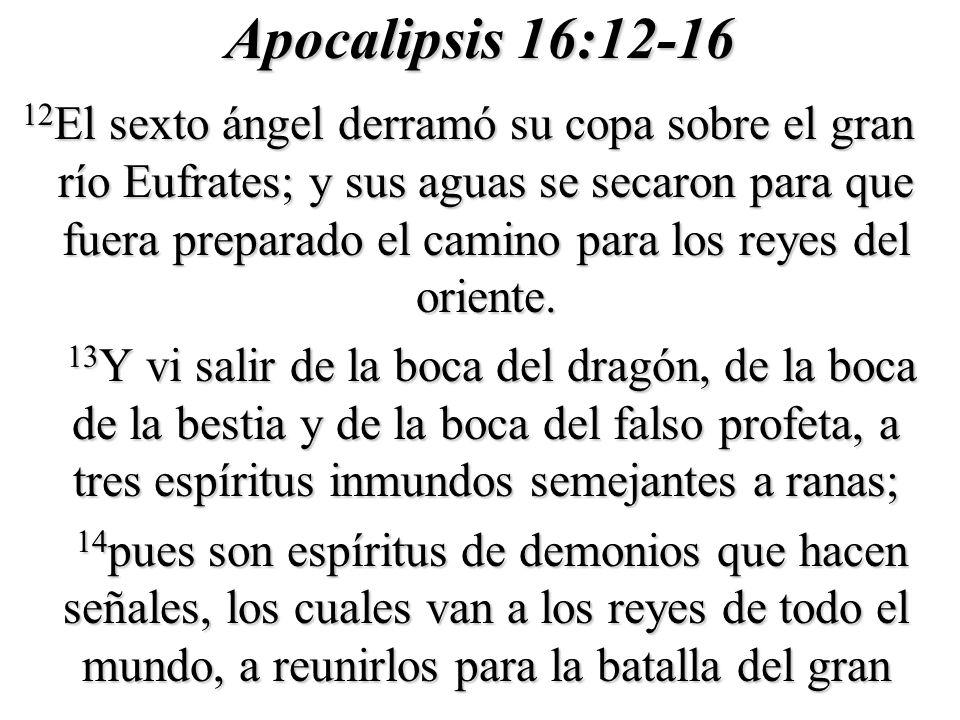 Apocalipsis 16:12-16