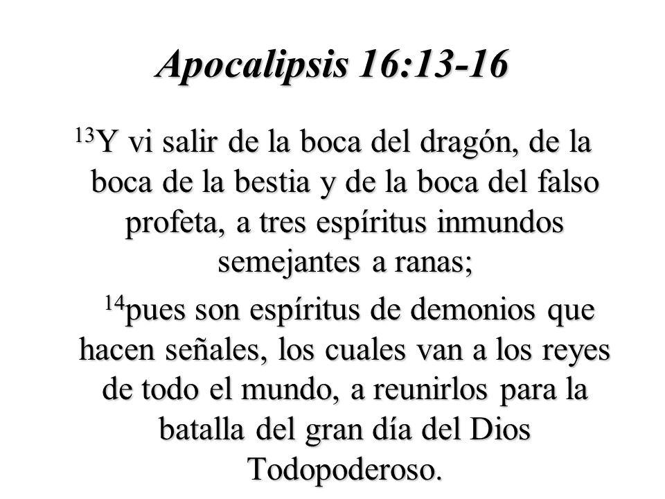 Apocalipsis 16:13-16