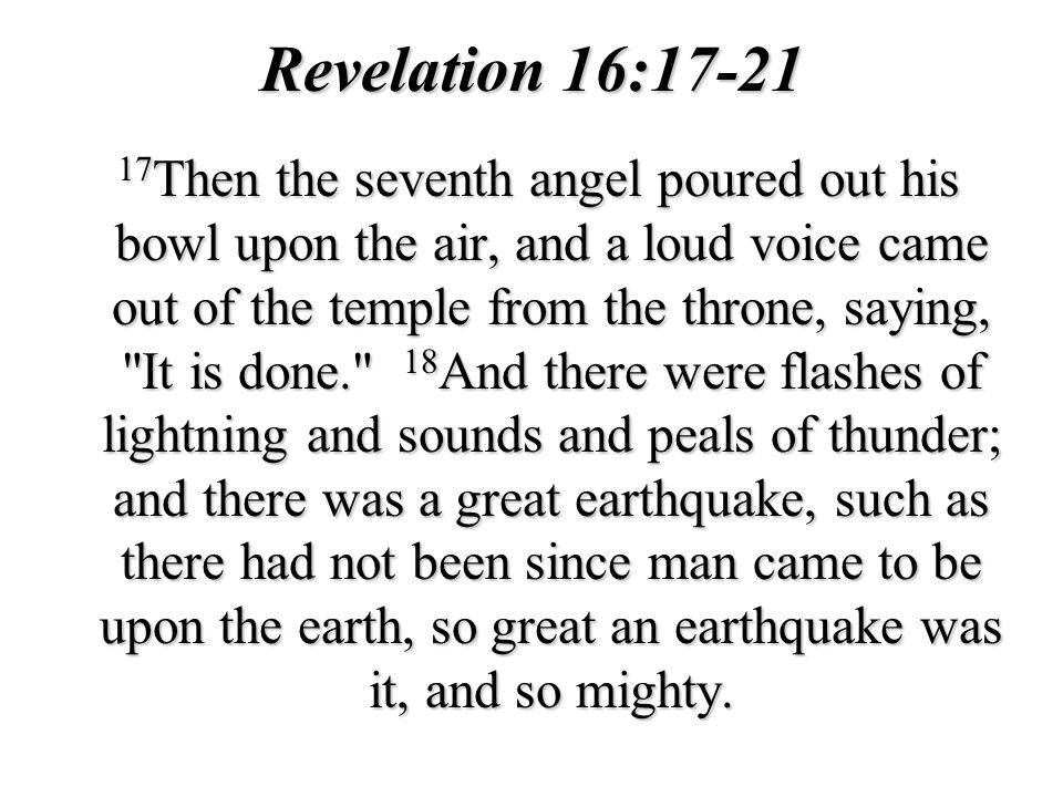 Revelation 16:17-21