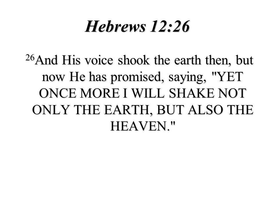 Hebrews 12:26
