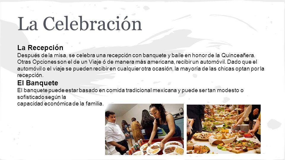 La Celebración La Recepción El Banquete