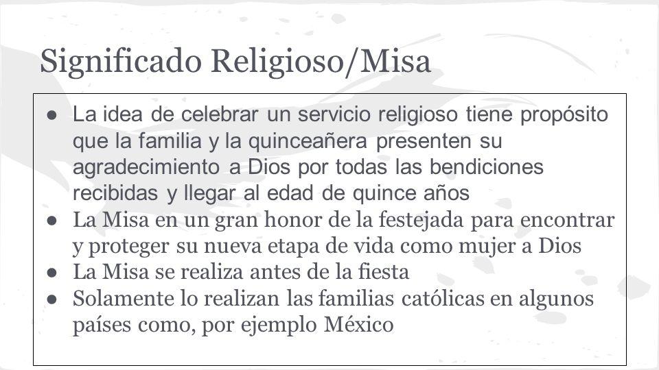 Significado Religioso/Misa