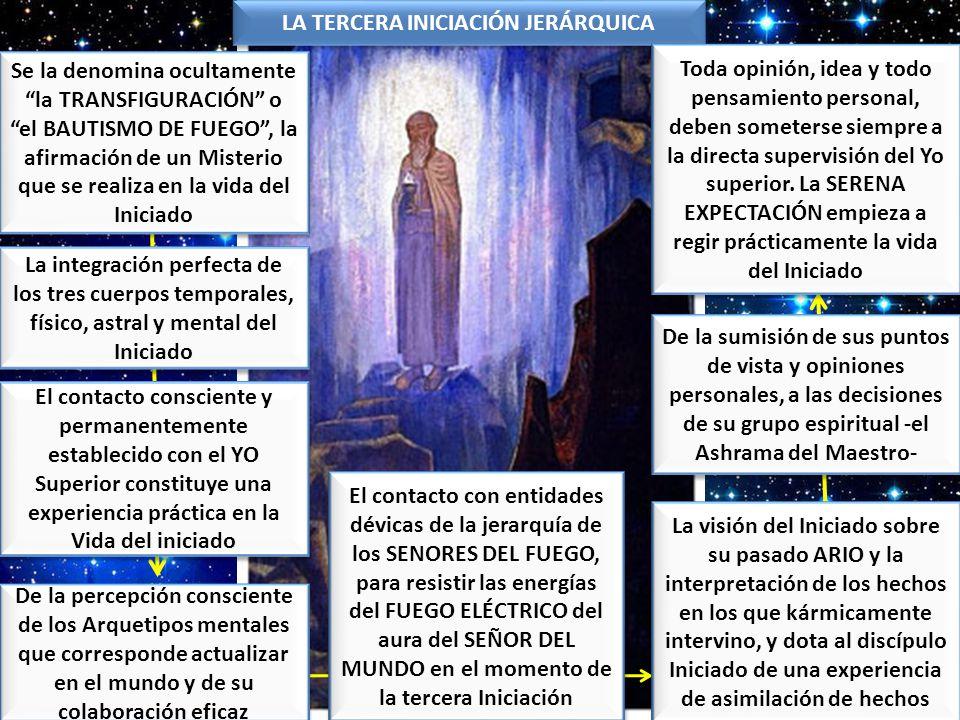 LA TERCERA INICIACIÓN JERÁRQUICA