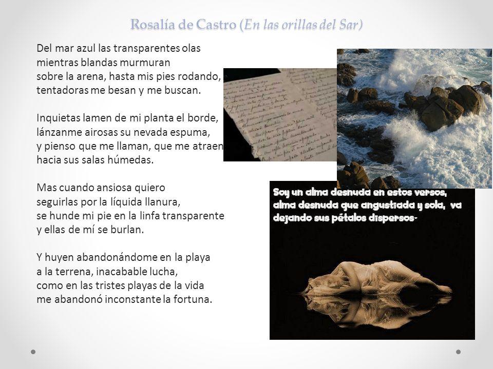 Rosalía de Castro (En las orillas del Sar)