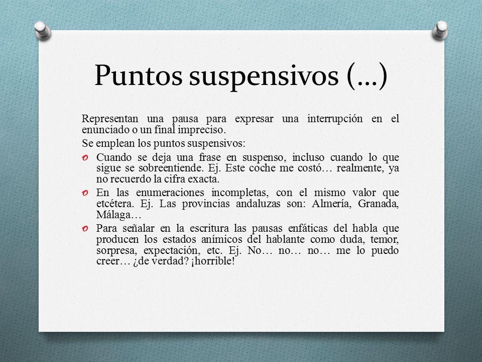 Puntos suspensivos (…)