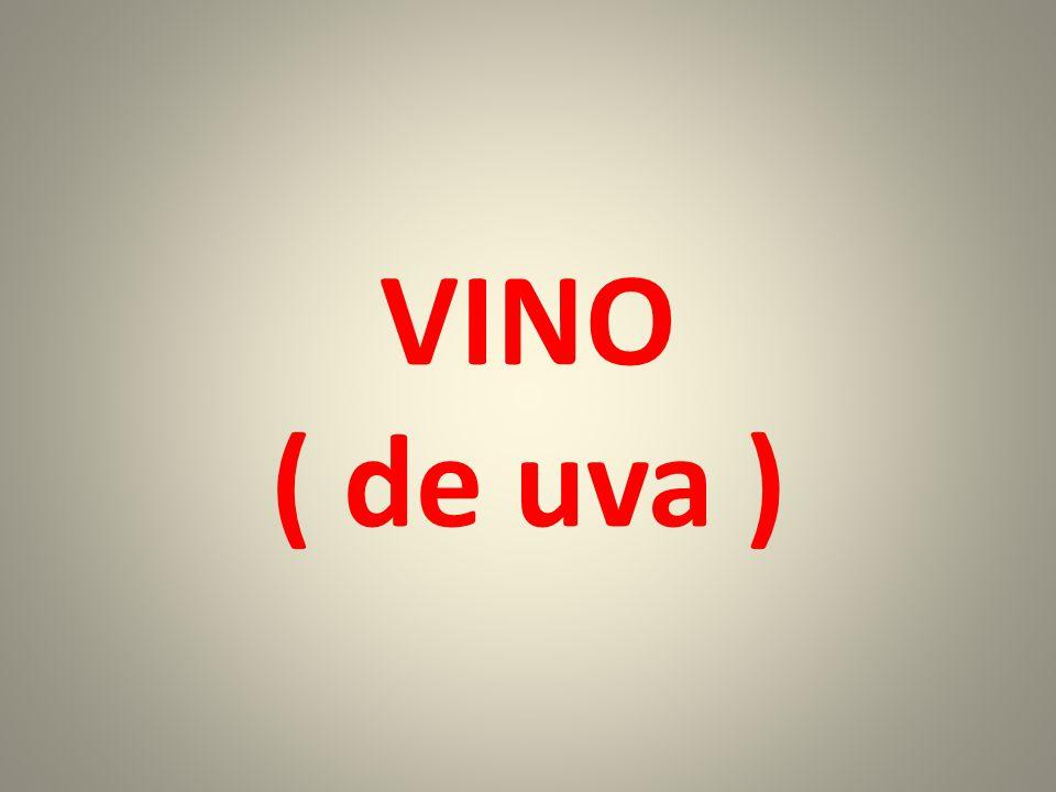 VINO ( de uva )