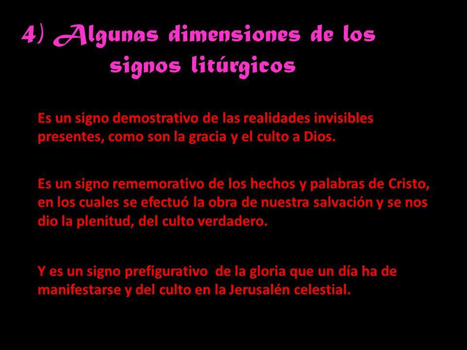 4) Algunas dimensiones de los