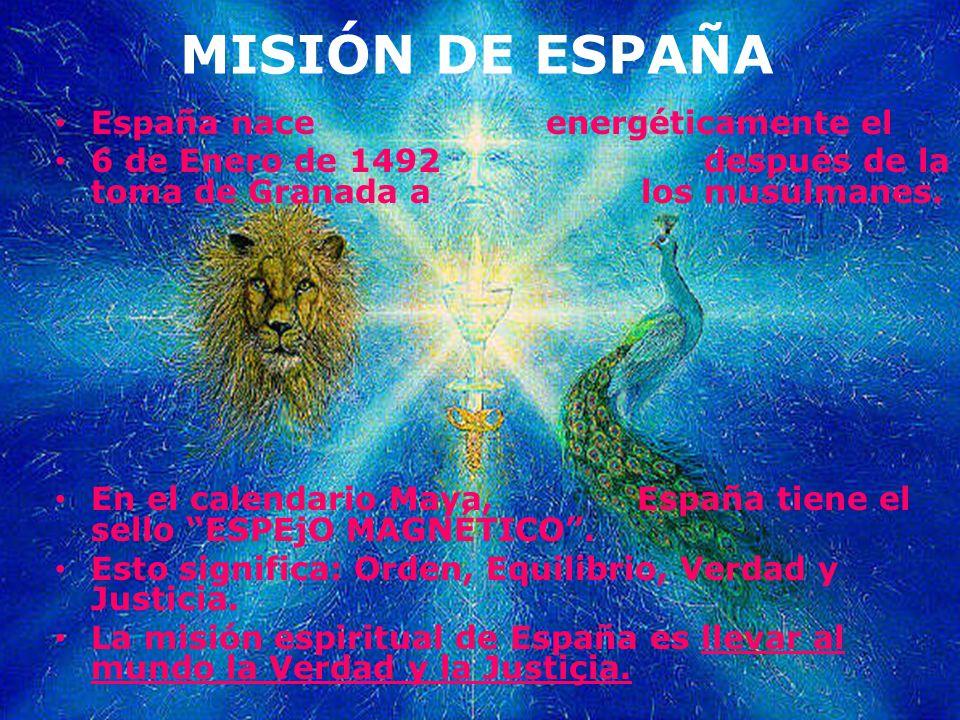 MISIÓN DE ESPAÑA España nace energéticamente el