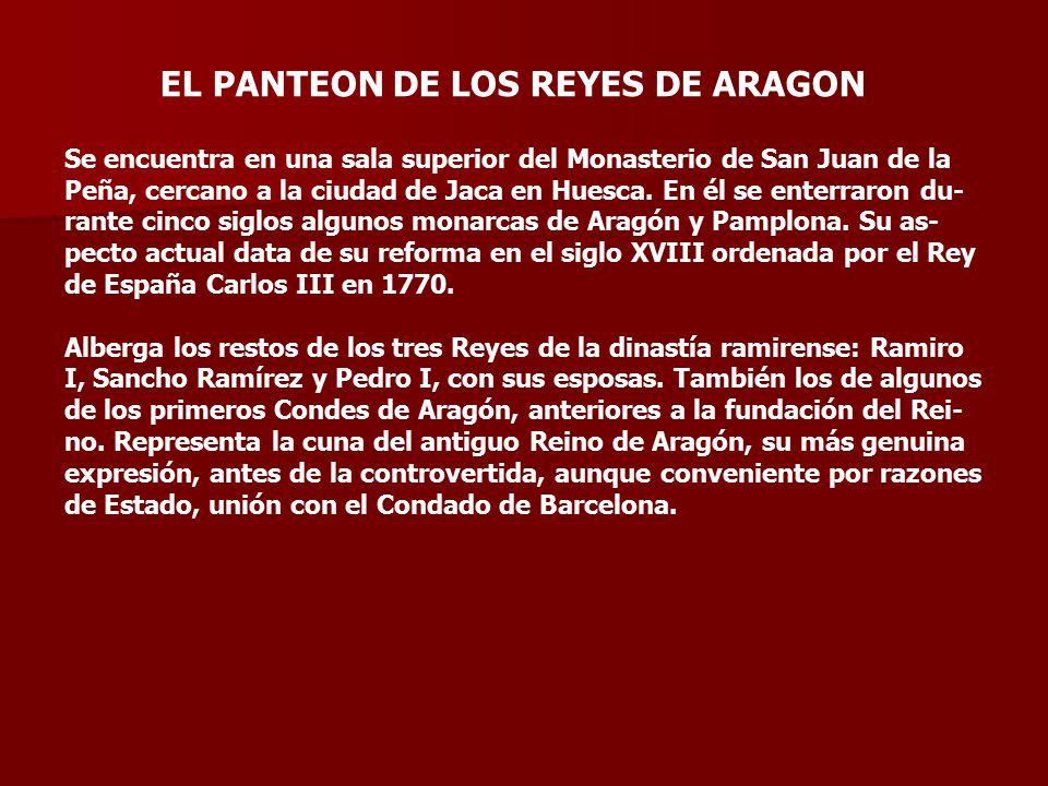 EL PANTEON DE LOS REYES DE ARAGON