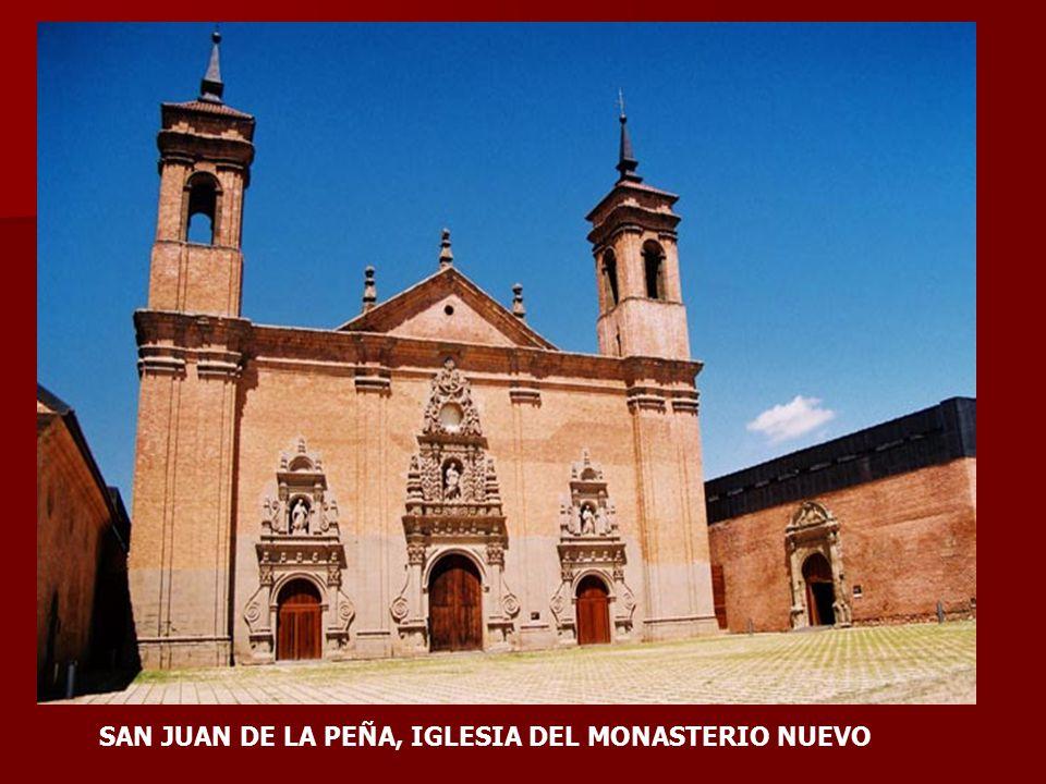 SAN JUAN DE LA PEÑA, IGLESIA DEL MONASTERIO NUEVO