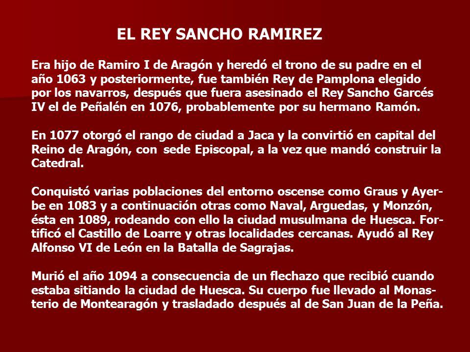 EL REY SANCHO RAMIREZ