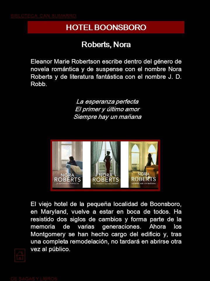 HOTEL BOONSBORO Roberts, Nora