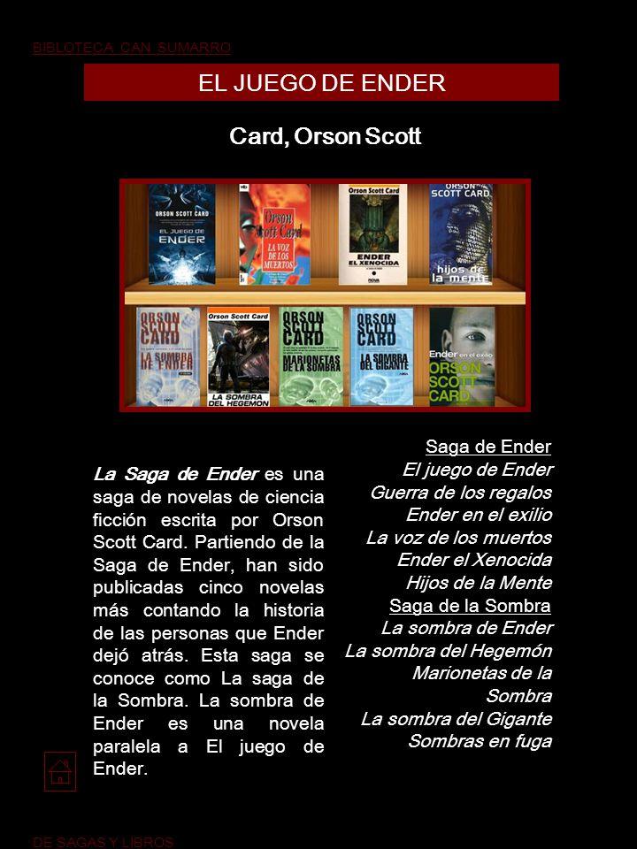 EL JUEGO DE ENDER Card, Orson Scott Saga de Ender El juego de Ender