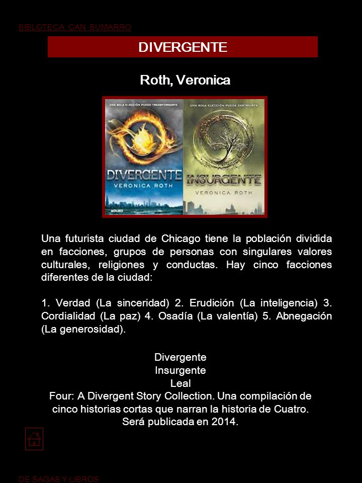 DIVERGENTE Roth, Veronica