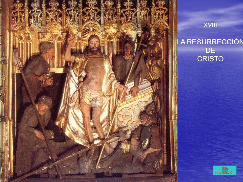 XVIII LA RESURRECCIÓN DE CRISTO Más Información