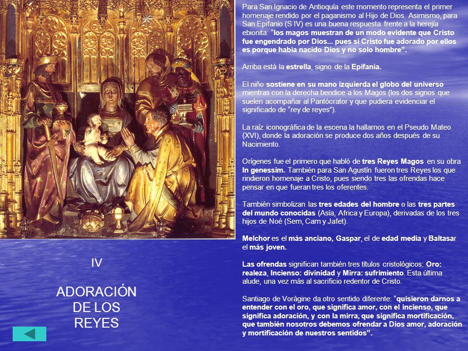 ADORACIÓN DE LOS REYES IV