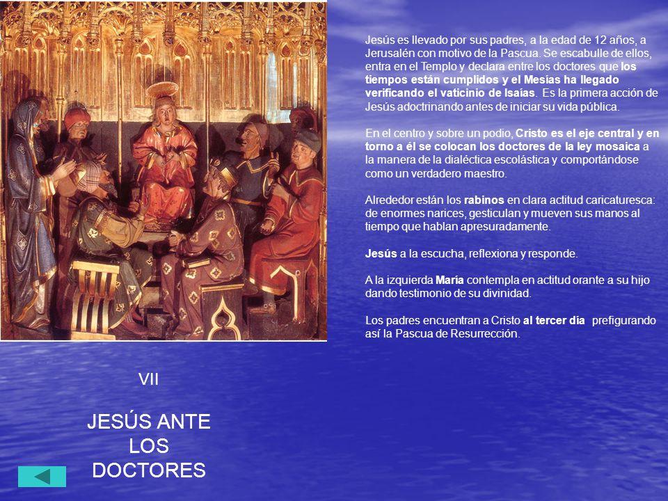 JESÚS ANTE LOS DOCTORES VII