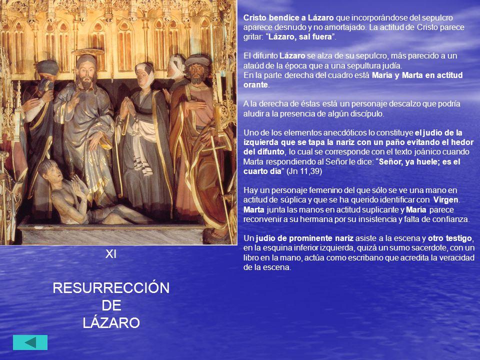 RESURRECCIÓN DE LÁZARO XI