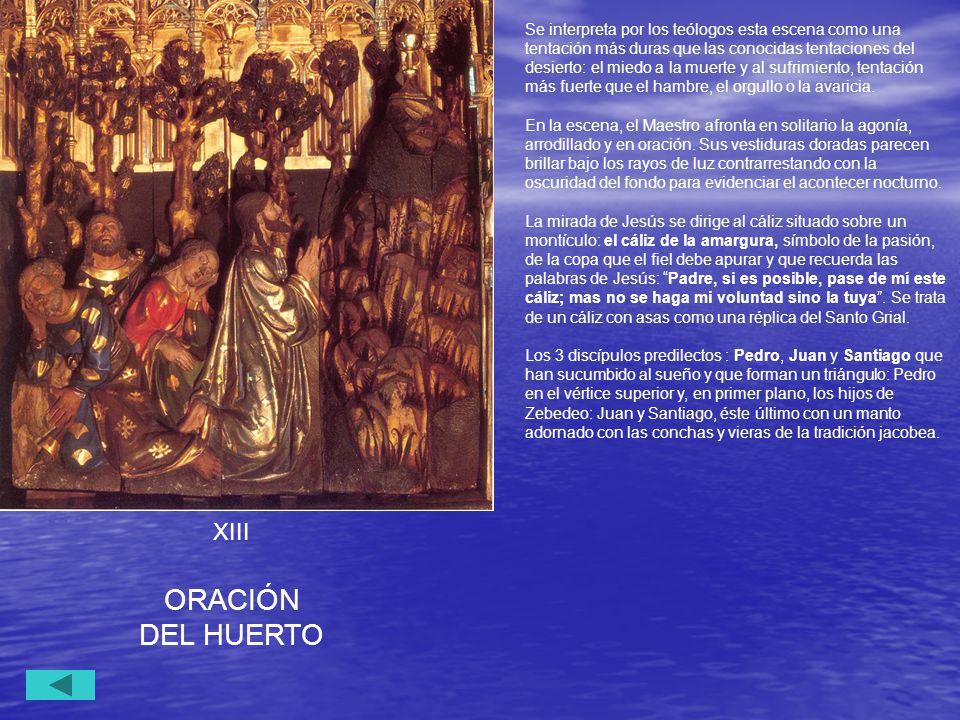 ORACIÓN DEL HUERTO XIII