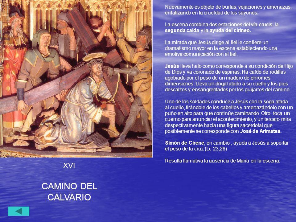 CAMINO DEL CALVARIO XVI