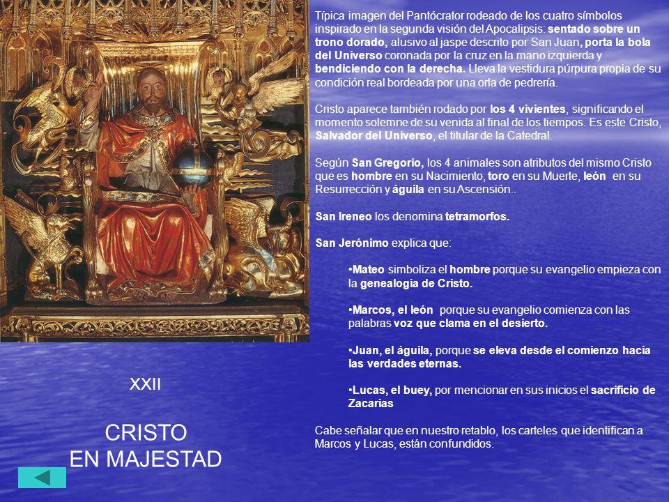 CRISTO EN MAJESTAD XXII