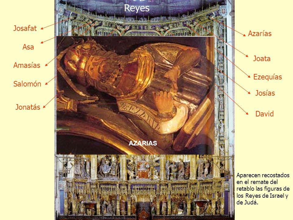 Reyes Josafat Azarías Asa Joata Amasías Ezequías Salomón Josías