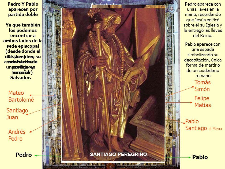 Apóstoles Tomás Simón Mateo Bartolomé Felipe Matías Santiago Juan