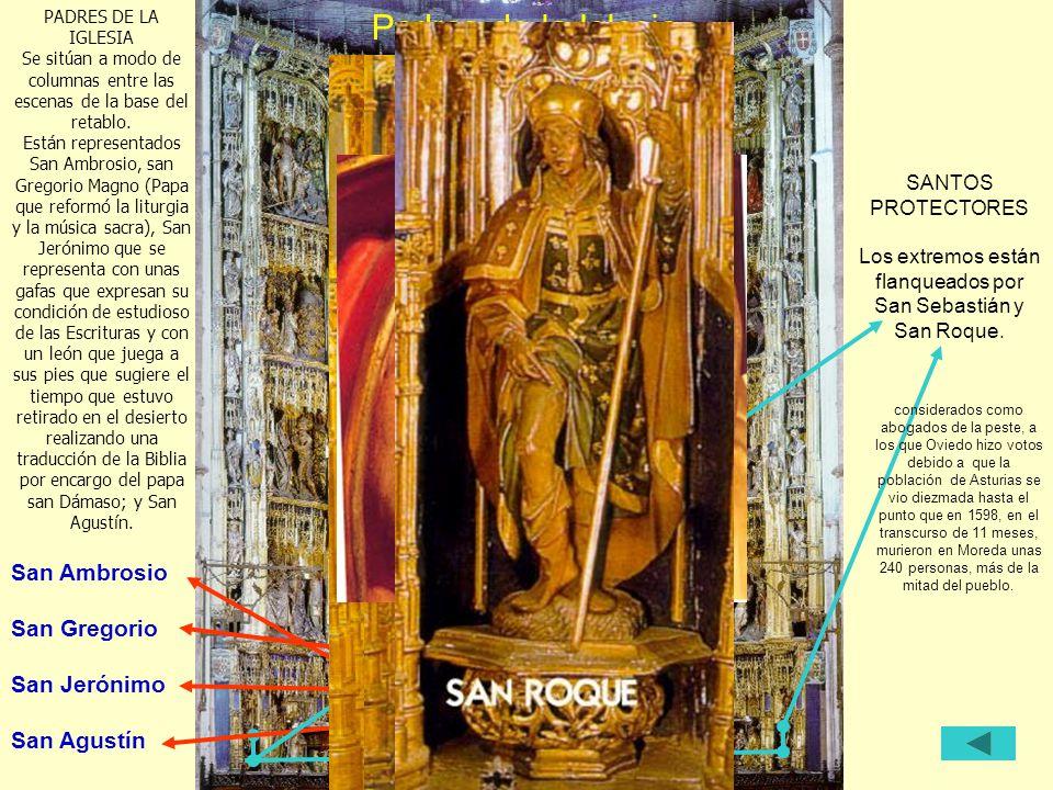 Padres de la Iglesia San Ambrosio San Gregorio San Jerónimo