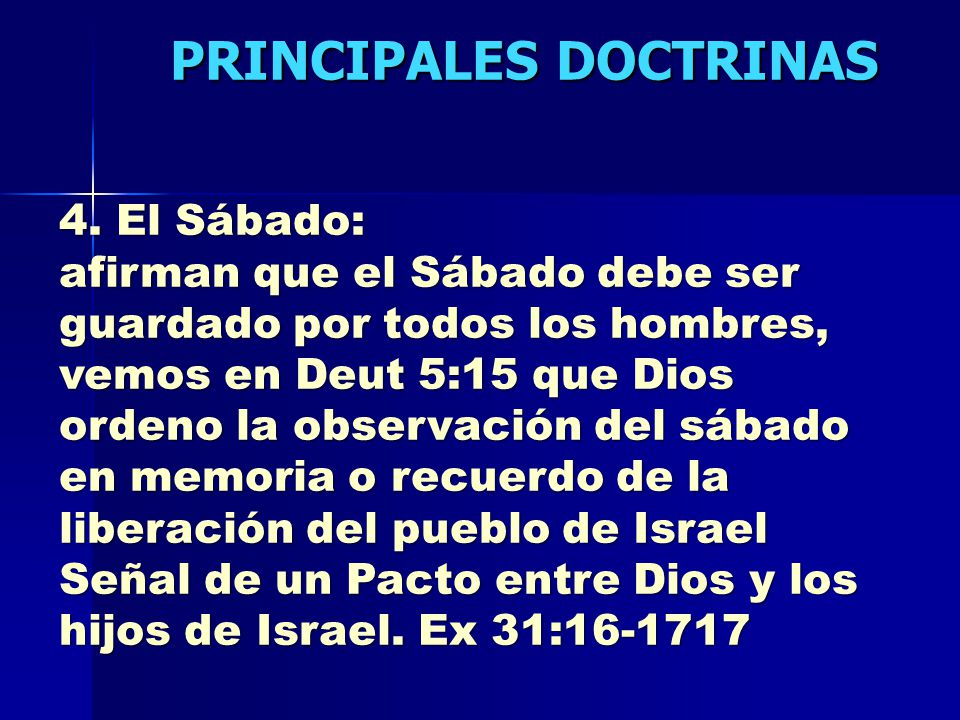 PRINCIPALES DOCTRINAS