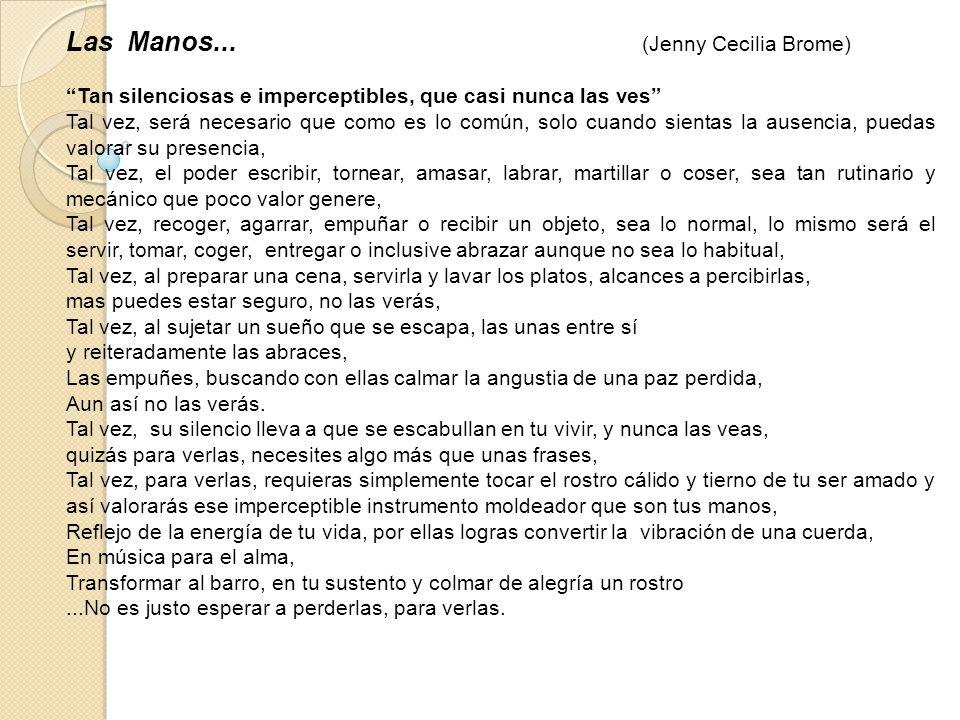 Las Manos... (Jenny Cecilia Brome)
