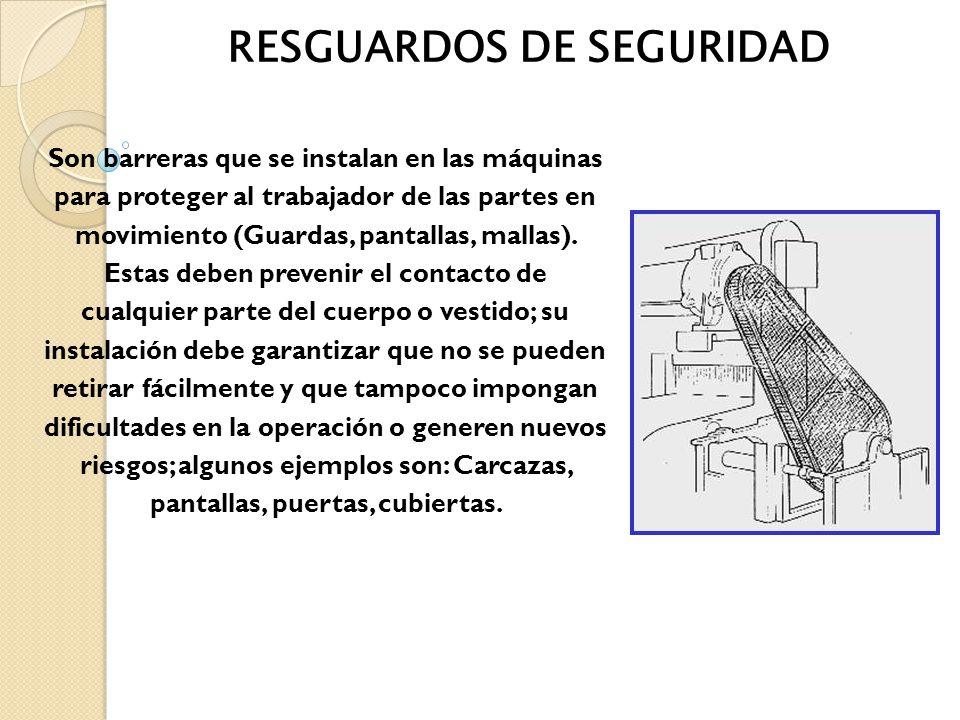RESGUARDOS DE SEGURIDAD