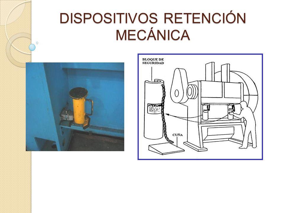 DISPOSITIVOS RETENCIÓN MECÁNICA