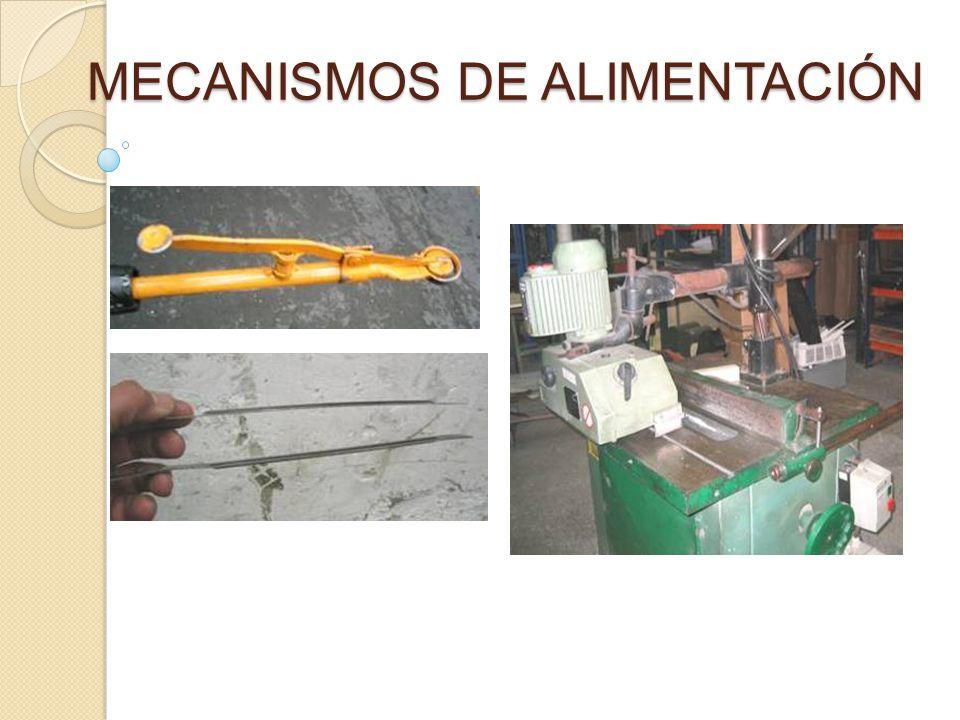 MECANISMOS DE ALIMENTACIÓN