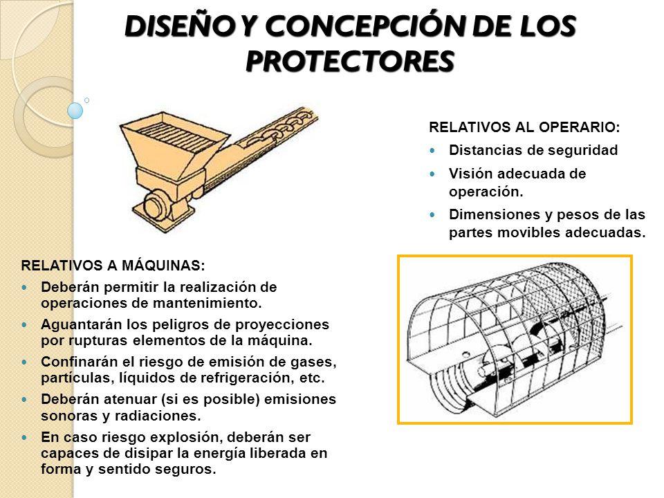DISEÑO Y CONCEPCIÓN DE LOS PROTECTORES