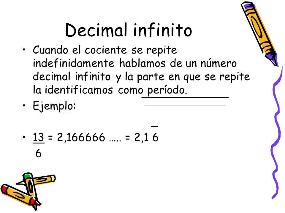 Decimal infinito