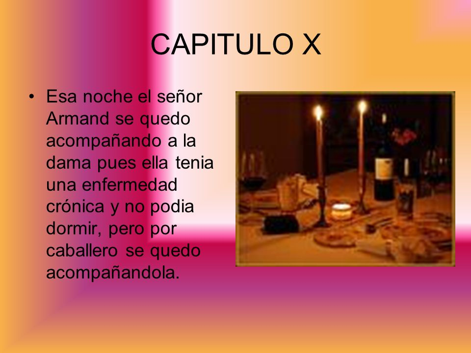 CAPITULO X