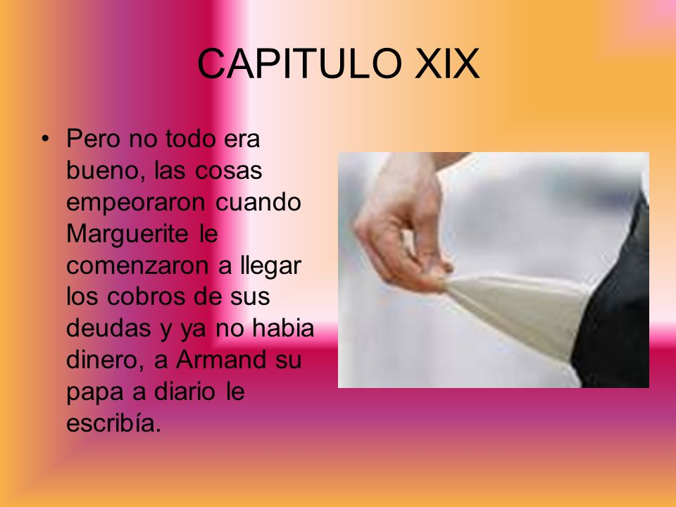 CAPITULO XIX