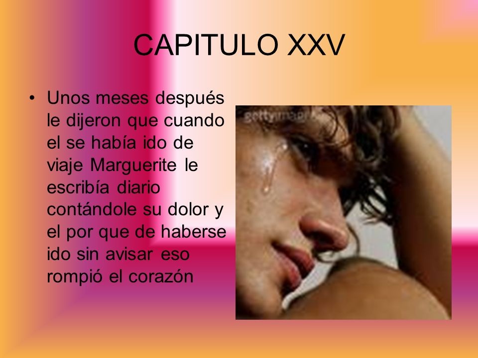 CAPITULO XXV
