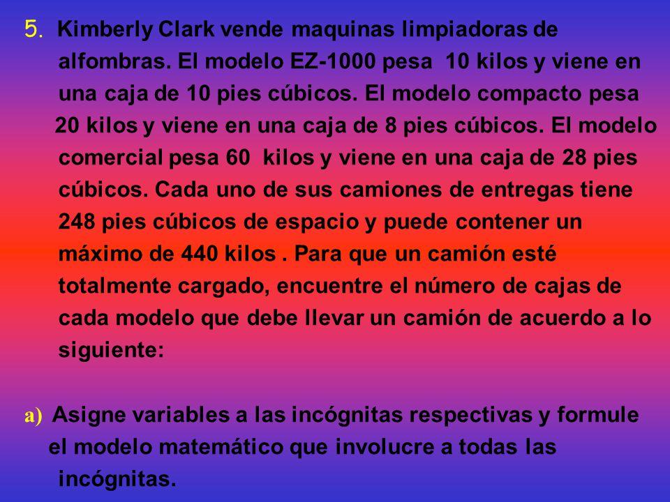 5. Kimberly Clark vende maquinas limpiadoras de alfombras