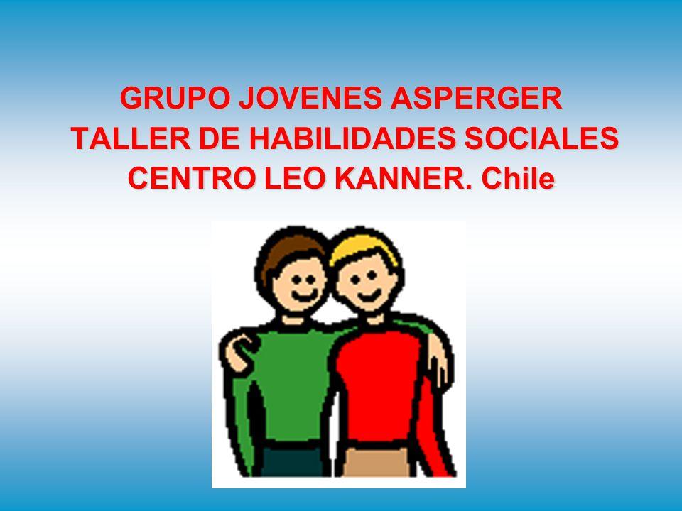 GRUPO JOVENES ASPERGER TALLER DE HABILIDADES SOCIALES