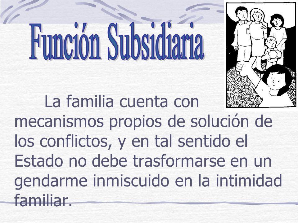 Función Subsidiaria