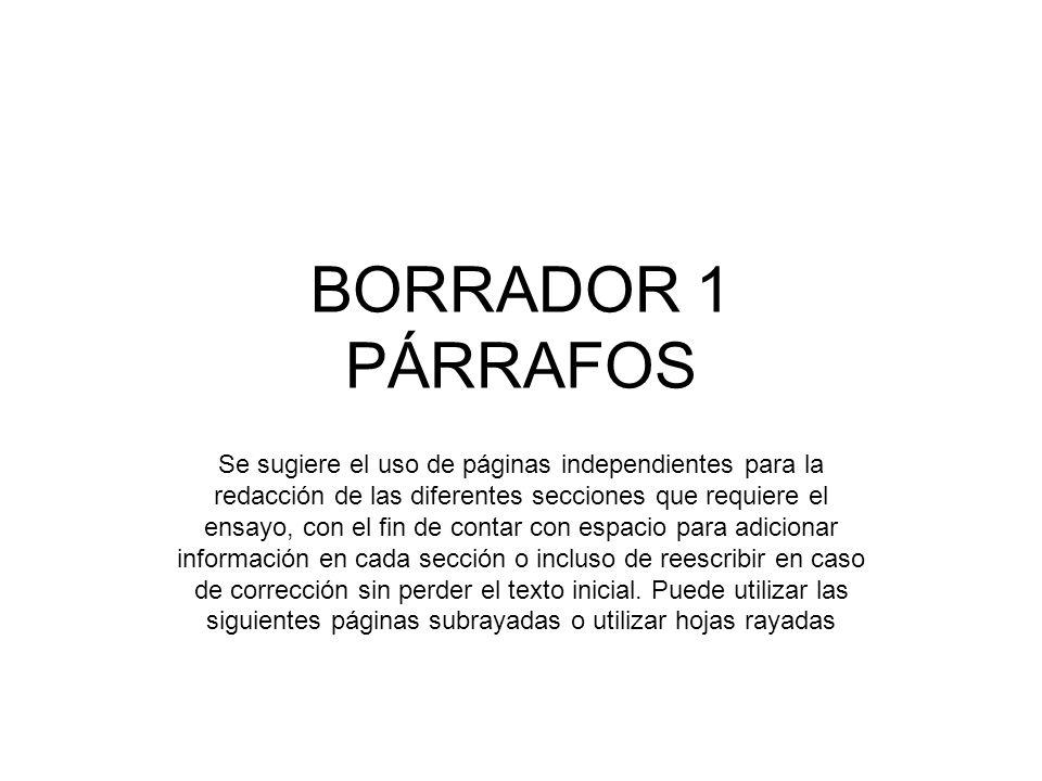 BORRADOR 1 PÁRRAFOS