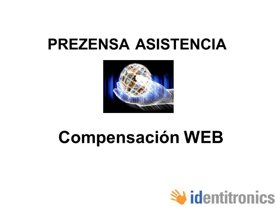 PREZENSA ASISTENCIA Compensación WEB