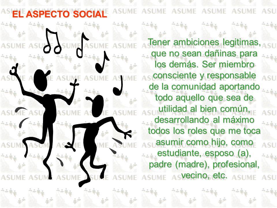EL ASPECTO SOCIAL