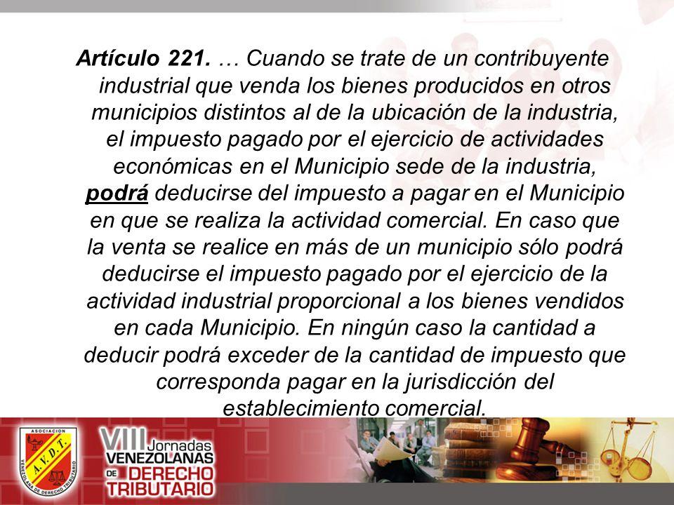 Artículo 221.