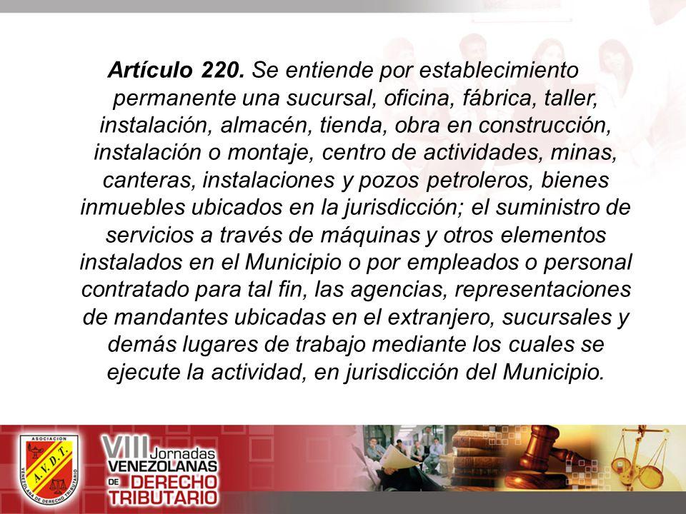 Artículo 220.