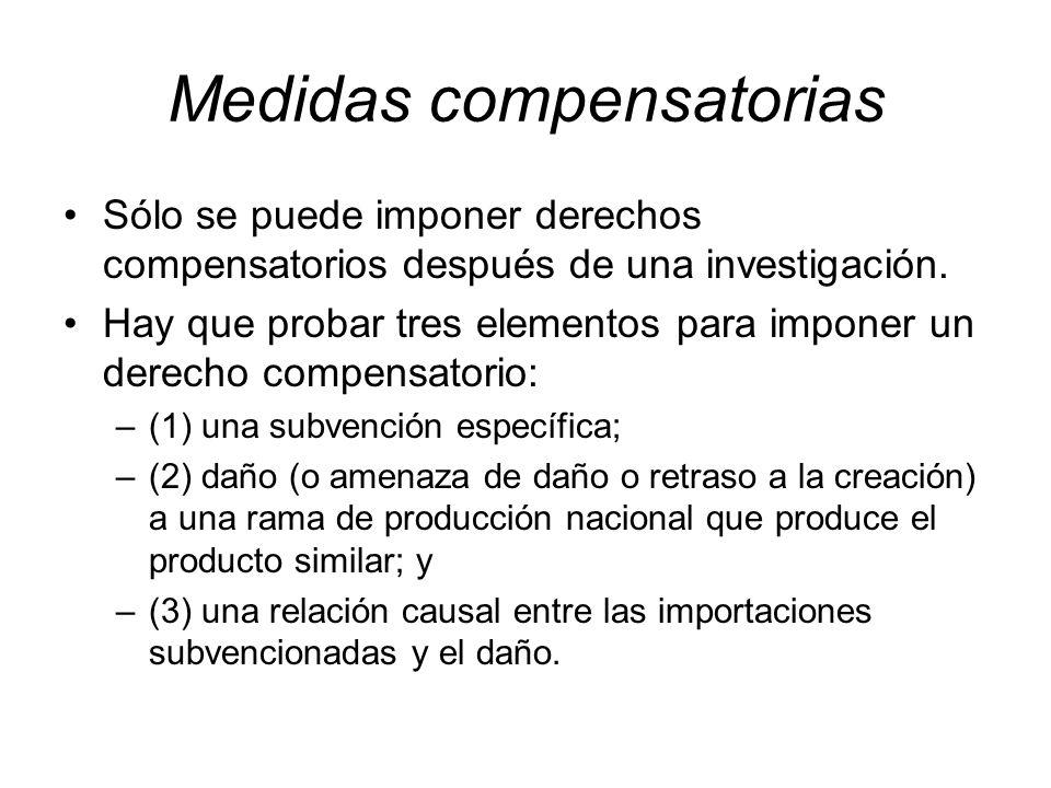 Medidas compensatorias